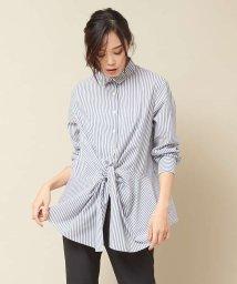 qualite/フロントツイストシャツ【予約】/501506272