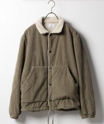 SAVE KHAKI/SKU CORDUROY AND BERBER CHORE COAT/501506655