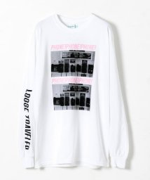 URBAN RESEARCH/LOOSE TRAVELER PHONE! LONG-SLEEVE T-SHIRTS/501506767