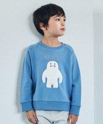 green label relaxing (Kids)/裏毛イエティモチーフプルオーバー/501470489
