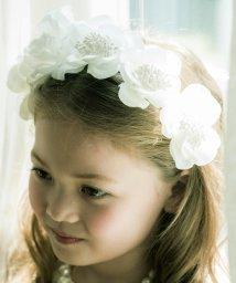 Catherine Cottage/真っ白な花冠♪フラワーカチューシャ/501493540