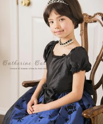 Catherine Cottage/ローズフフロッキープリントドレス/501493548