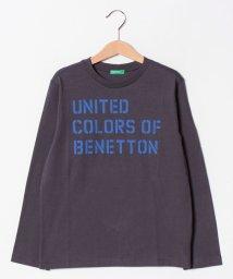 BENETTON (UNITED COLORS OF BENETTON BOYS)/【BOYS】ベーシックロゴプリント長袖Tシャツ・カットソー/501503027