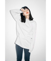 X-girl/エックスガール/レディス/L/S TEE OBLIQUE LOGO/501507443