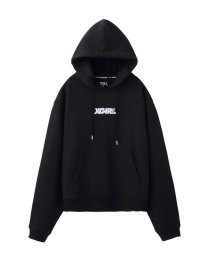 X-girl/エックスガール/レディス/PULLOVER SWEAT HOOD SMALL LOGO/501507450