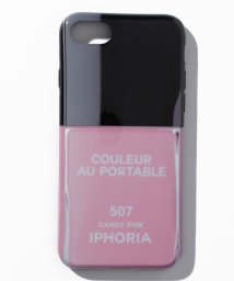 IPHORIA/【iPhone8/iPhone7 対応】 ネイルボトルシリーズ Couleur au Portable Candy Pink/501508188