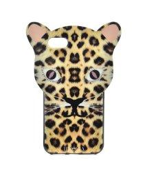IPHORIA/【iPhone8/iPhone7 対応】 アニマルヘッドシリーズ Leo Case Brown Leopard/501508191