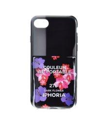 IPHORIA/【iPhone8/iPhone7 対応】 ネイルボトルシリーズ Colour Case Dark Flower/501508198