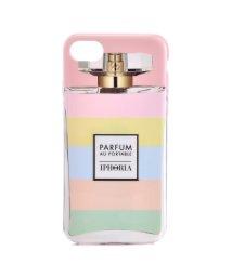 IPHORIA/【iPhone8/iPhone7 対応】 パフュームボトルシリーズ Perfume Case with Pastel Strip/501508202