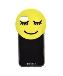 IPHORIA/【iPhone8/iPhone7 対応】 Round Case Yellow Smiley/501508206
