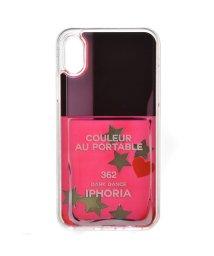 IPHORIA/【iPhoneX 対応】 3Dリキッドケース/501508233