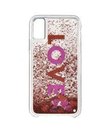 IPHORIA/【iPhoneX 対応】 3Dリキッドケース/501508234