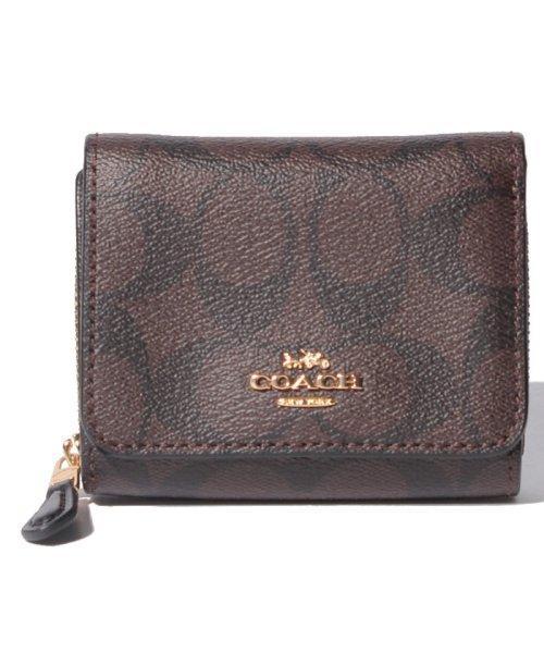 COACH(コーチ)/三つ折り財布 F41302/F41302