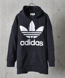 SHIPS JET BLUE/adidas:リラックスフィット パーカー(TREFOIL OVERSISED HOODIE)/501508505