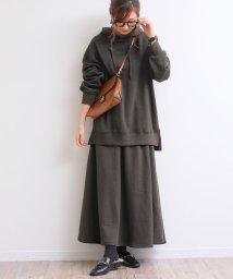 and Me.../【E-3】裏起毛 オーバーサイズ スウェット パーカー チュニック トップス/501509686