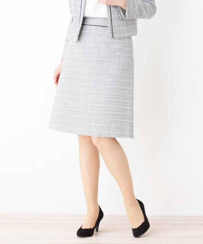 6dde3c6d0abbc フレア スカートスーツ