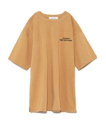 Mila Owen/サイドスリットビッグTシャツ/501509794