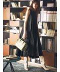Mila Owen/バックリボンAラインリネンワンピース/501509797