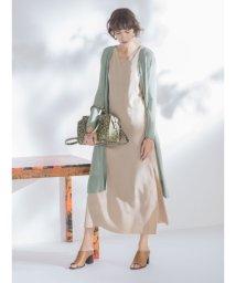Mila Owen/サイトスリットロングカーディガン/501509811