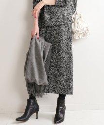 IENA/wool タイトスリットスカート/501510269