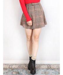 dazzlin/【sw】ベルト付ミニスカート/501469476