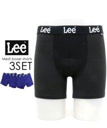 MARUKAWA/【Lee】リー ボクサーパンツ 3枚組 セット ストレッチ メッシュ素材/501487230