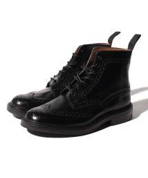 Tricker's/【Trickers】STOW BLACK CALF DAINITE SOLE 5 FIT/501498316