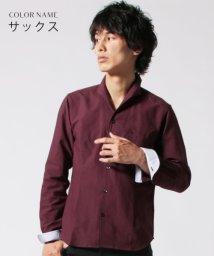THE CASUAL/(バイヤーズセレクト) Buyer's Select オックス イタリアンカラー 長袖シャツ/501508381