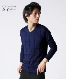 THE CASUAL/(スプ) SPU ピンタックVネック長袖カットソー/501508401