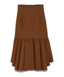 Lily Brown/ランダム裾ハイウエストスカート/501510446