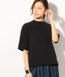 coen/USAコットンハイネック5分袖Tシャツ/501511191