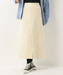 SLOBE IENA/バスケット織りロングスカート/501511312
