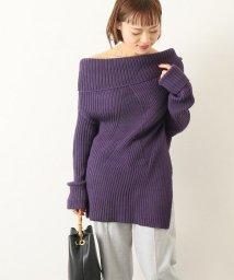 NOBLE/【UJOH 】アンバランスニット/501511491