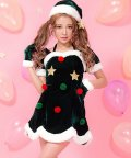 Dita/DITA【ディータ】クリスマスツリーモチーフサンタ X'mas xmas コスチューム/コスプレ/501511665