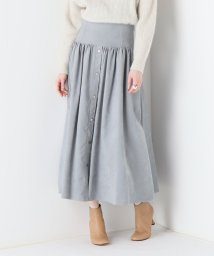 NOBLE/【ELIN】メインスウェードギャザースカート/501512440