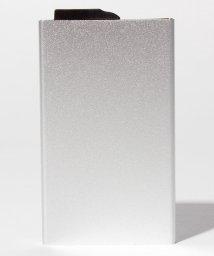 SELECT/〈CARDHODA/カードホダ〉アルミニウムカードケース 5枚収納スライド式タイプ/501487234
