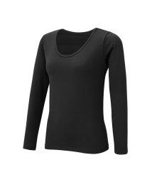 MAC HOUSE(women)/MAC HEAT中綿クルーネックシャツ TF-1016/501488144