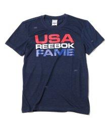 Reebok/Reebok HOF FAME GR TEE  COLLEGE NAVY/501496254