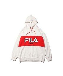 FILA/フィラ ビッグ ロゴ エンブロ フーディ フォー アトモス/501497235