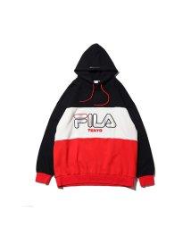 FILA/フィラ ビッグ ロゴ エンブロ フーディ フォー アトモス/501497236