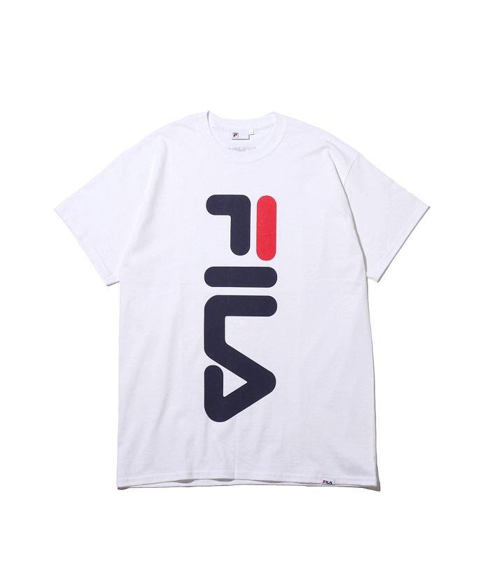 フィラ × アトモス ビッグ ロゴ ティーシャツ