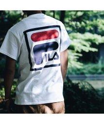 FILA/フィラ × アトモス スクエア ビッグ ロゴ ティーシャツ/501497241