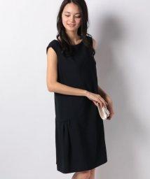 Apuweiser-riche/裾ギャザーサックドレス/501500255