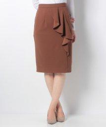 Eimy Peal by POWDER SUGAR/ストレッチサイドラッフルタイトスカート/501506035