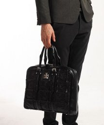 EL-DIABLO/ビジネスバッグ メンズ ブリーフケース A4 ビジネスバック ビジネス 鞄 フェイクレザー パッチワーク/501510877