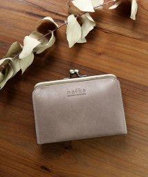 nafka/財布 折り財布 レディース がま口 本革 薄い ギャルソンウォレット 日本製 がま口財布 nafka/501510886