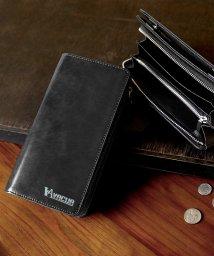 VACUA/財布 長財布 メンズ レザー 牛革 L字ファスナー 革財布 さいふサイフ 多機能 大容量 カード多収納 ギガウォレット/501510910
