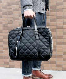 ZARIO/ビジネスバッグ メンズ ビジネスバック A4 ビジネス 鞄 キルティング 2way ショルダー付き/501510912