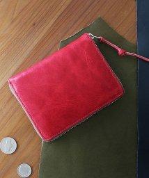 ZARIO-PREMIO-/小さい財布 メンズ ラウンドファスナー 財布 本革 コインケース バッカス×イタリアンレザー コンパクトウォレット/501510960