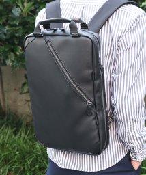 ZARIO/バッグ 薄マチ ビジネスリュック ビジネスバッグ メンズ 通勤バッグ 軽量 ビジカジ A4 2way ZARIO/501510962